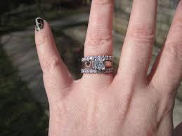 eternity ring finger engagement wedding and eternity rings weddingbee