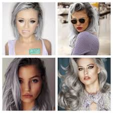 gray hair color trend 2015 autumn winter 2015 colour trends not all things are black and