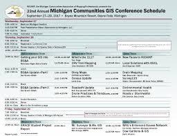 Michigan Orv Trail Maps by Conference