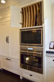 Kitchen Oven Cabinets Microwave Over Oven Design Ideas