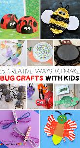 16 creative ways to make bug crafts with kids