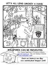 virginia wildfire information and prevention just for the kids