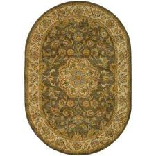 Green And Brown Area Rugs Green Oval Area Rugs Rugs The Home Depot