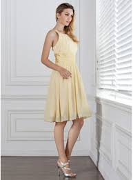 a linie u ausschnitt knielang chiffon brautjungfernkleid mit applikationen spitze p598 a linie princess linie u ausschnitt knielang chiffon