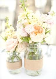 jar flower centerpieces wedding jar centerpieces peony jar centerpiece rustic