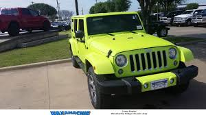 jeep sahara green 2017 hyper green jeep wrangler sahara youtube