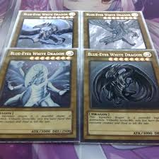 blue eyes white dragon alternate art ultra rare orica proxys