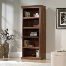 sauder 4 shelf bookcase sauder orchard hills library bookcase with optional doors