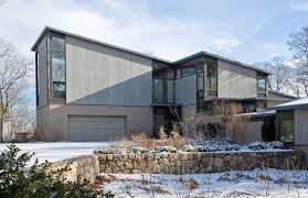 mid century modern house modern exterior chicago by