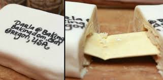 harry potter cookie with hogwarts acceptance letter hidden inside