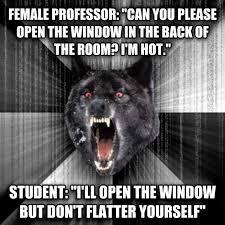 Angry Wolf Meme - livememe com insanity wolf