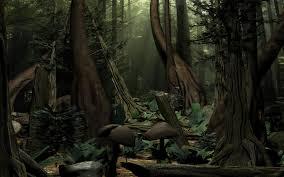 scene trees 3d model