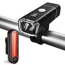 bike lights degbit usb rechargeable bike light set mountain bike