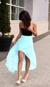 dress clothes shoes prom dress black blue hi light blue