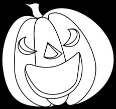 halloween black and white clipart pumpkin line drawing free download clip art free clip art on