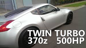 nissan 350z turbo kit uk nissan 370z twin turbo accelleration 1 480whp youtube