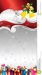 christmas gift certificate design stock image image 6418341