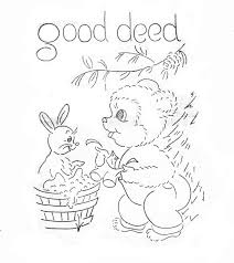 bears hand embroidery pattern for tea towels dish towels in