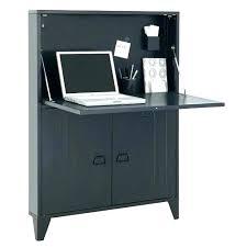 meuble bureau fermé avec tablette rabattable armoire ferme armoire ordinateur fermee meuble with armoire
