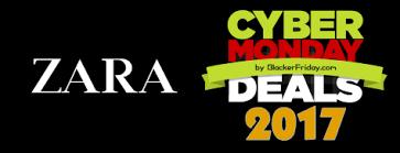 zara cyber monday 2017 sale deals black friday 2017