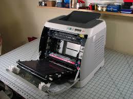 how a transfer belt unit works in okidata c5200n printer
