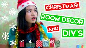 christmas room decor and diys louise viray youtube