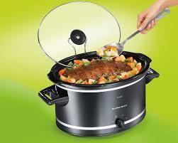 crockpot black friday sale amazon com hamilton beach 33182a slow cooker 8 quart kitchen
