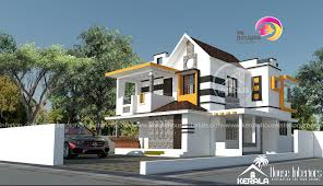 Kerala Home Design 3000 Sq Ft Square Feet Double Floor Contemporary Home Design