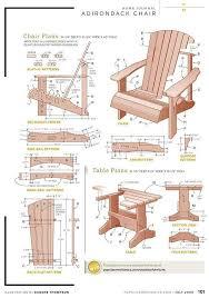 Plans For Making Wooden Garden Furniture by Free Diy Adirondack Chair Plans Build Adirondak Chair Plans
