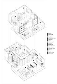 Twin Home Floor Plans Unboxing Space Duplex Apartment Merges Diverse Eras And Styles