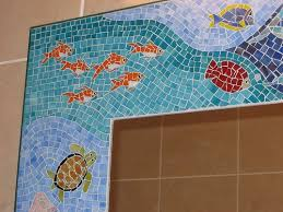 Bathroom Mosaic Ideas 224 Best Under The Sea Images On Pinterest Mosaic Glass Mosaic
