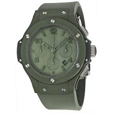 hublot ceramic bracelet images Hublot big bang automatic chronograph green dial green ceramic jpg