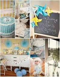 birthday boy ideas kara s party ideas vintage yellow and blue birthday party planning