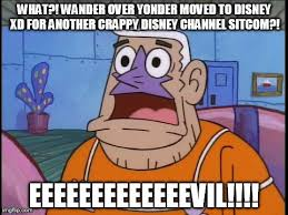 Wander Over Yonder Meme - shocked mermaidman meme 1 disney channel by trc tooniversity on