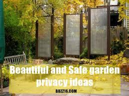 Garden Privacy Ideas 25 Beautiful And Safe Garden Privacy Ideas
