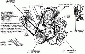1998 plymouth voyager serpentine belt diagram auto engine and