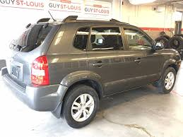 hyundai crossover 2009 used 2009 hyundai tucson gls gps in cowanville used inventory