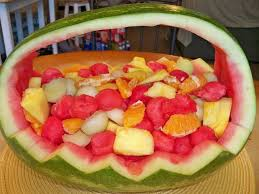 how to make a fruit basket watermelon fruit basket 6 steps with pictures