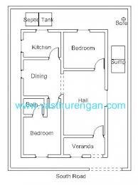 Home Design Plans 900 Square Feet Vastu Plan For South Facing Plot 2 Vasthurengan Com