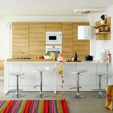 cuisine avec comptoir bar cuisine avec coin repas table bar îlot pour manger côté maison