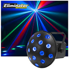 Eliminator Lighting Mushroom Rgbwa Multi Colored Beams