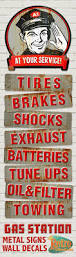 Custom Metal Signs For Home Decor by Best 25 Garage Signs Ideas On Pinterest Gifts For Nana