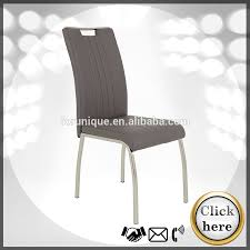 Leather Dining Chair With Chrome Legs Grey Leather Chrome Dining Chair Grey Leather Chrome Dining Chair