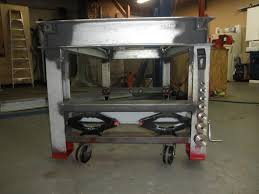 Welding Table Plans by Welding Table Retractable Wheels And Receiver Up Top For Tools