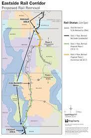 Seattle Light Rail Future Map by The Eastside Rail Corridor Regional Trail Starting To Take Shape