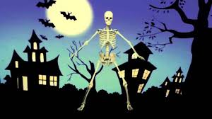 halloween skeleton images the dancing skeleton happy halloween everyone youtube
