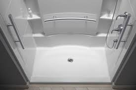 bathroom tile ready shower pan give you a new angle on your
