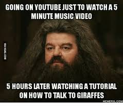 Memes Youtube - going on youtube just to watcha5 minute music video 5 hours later