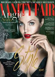 Vanity Fair Essay Angelina Jolie Dazzles For Vanity Fair Talks Brad Pitt Divorce