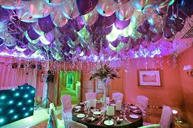 gorgeous birthday room decoration with balloons 2 along